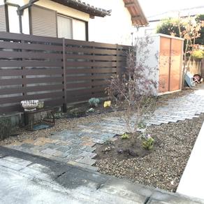 伊勢崎市 ガーデンリフォーム工事完成
