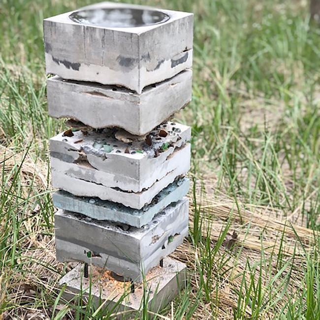 Concrete Bird Bath  $725.00