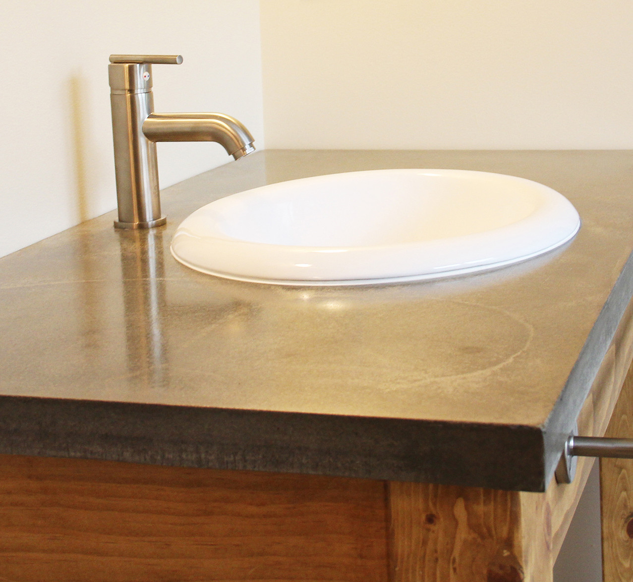 Bath Concrete Counter