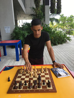 Meet your Chess instructor at Perez Art Museum