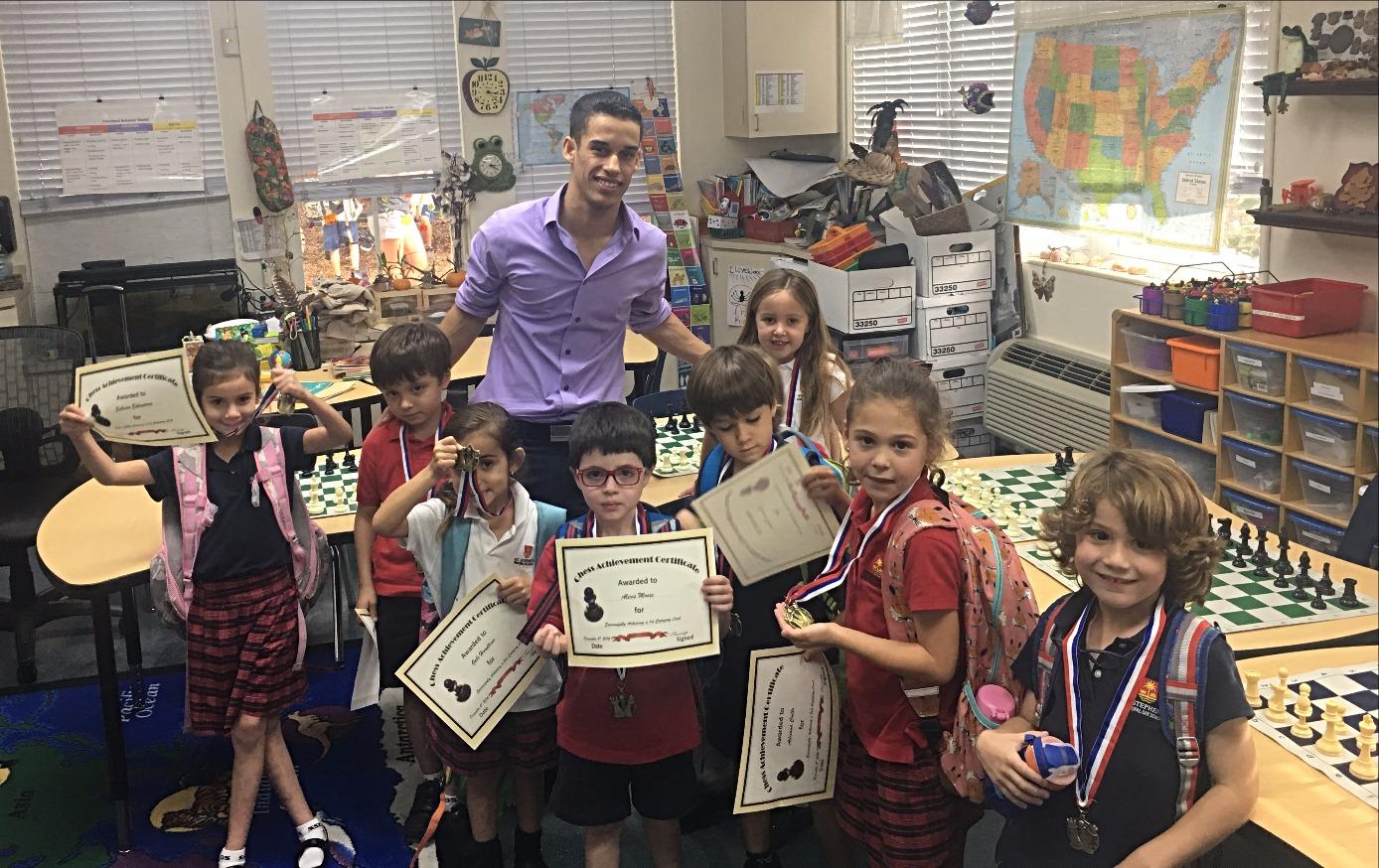 Chess club at Saint Stephen's Episcopal Day School
