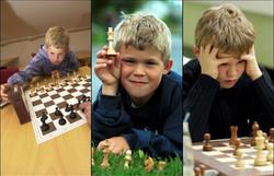 Magnus Carlsen as a kid