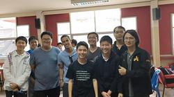 Robert at Bangkok Chess club