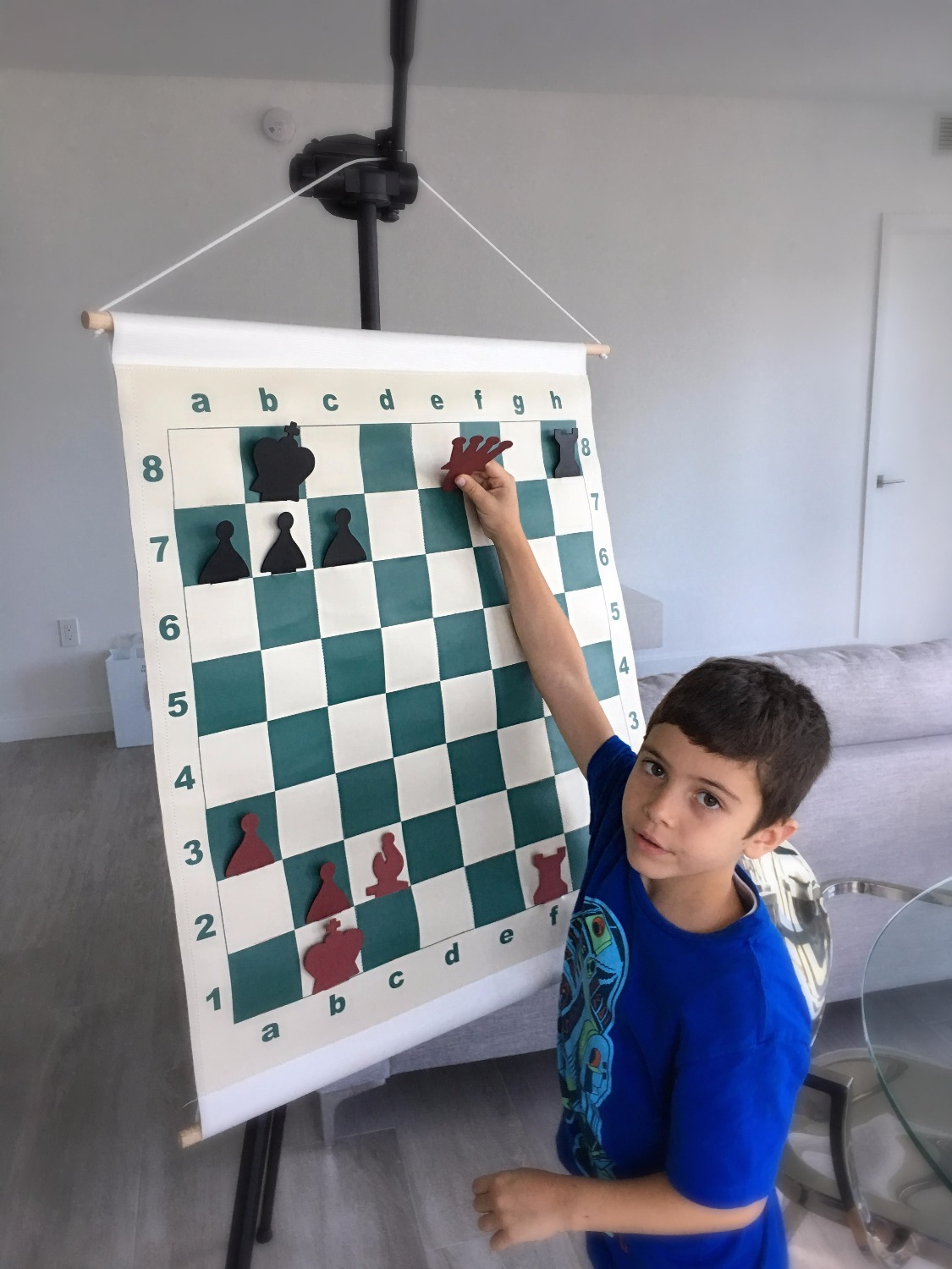 Chess lesson in Brickell