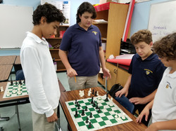 Group chess lesson in Cutler Bay
