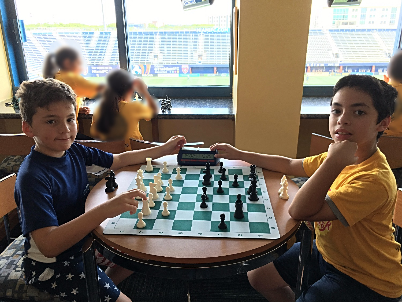 Chess summer camp at Florida International University (FIU)
