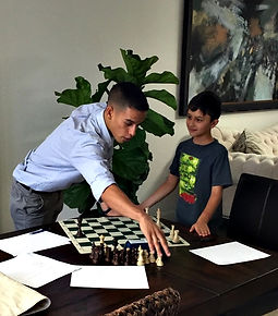 Chess class in Miami