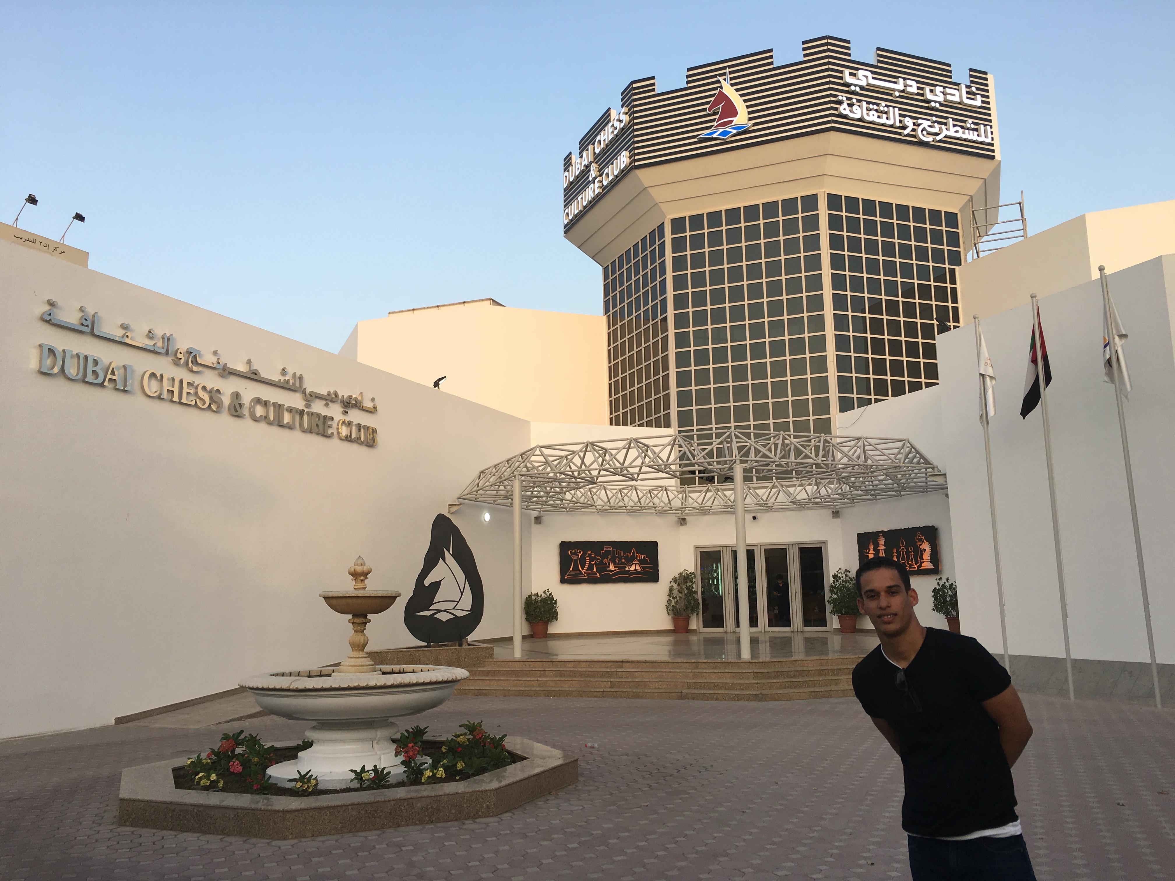 Chess club in Dubai