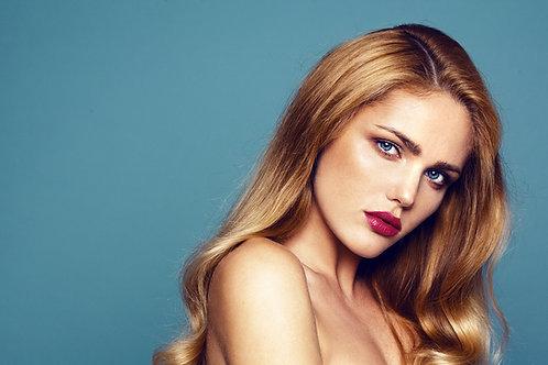 Blonde Human Hair Wavy Human Hair