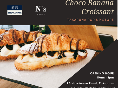 Takapuna pop up store will open from 10am tomorrow