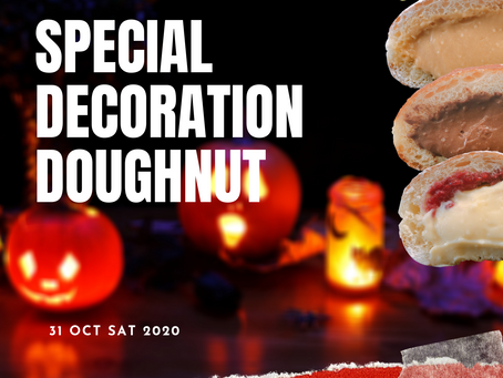 Special Decollation decoration doughnuts on this Saturday