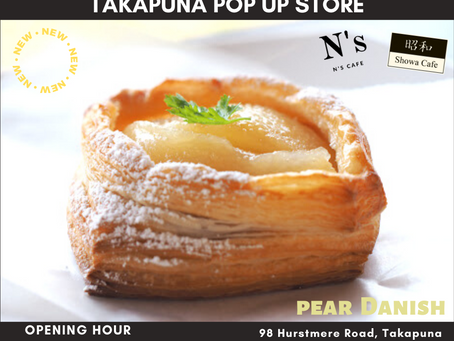 Takapuna pop up store will open from 10am tomorrow 🍐