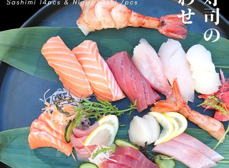 Sashimi & Sushi Combination