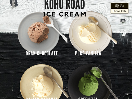 Kohu Road Premium Ice Cream available now at Showa!!
