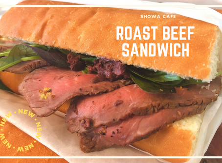 New Sandwich available now at Showa Cafe!!