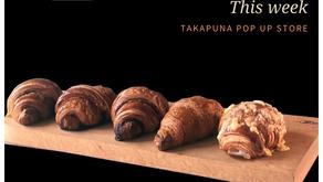 Takapuna pop up store open tomorrow🥐