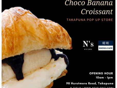 Takapuna pop up store will open tomorrow from 10am.