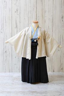 3歳 羽織袴 白