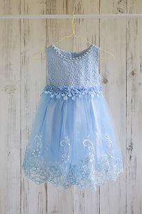 ドレス 水色 100cm