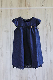 ドレス ネイビー 120cm