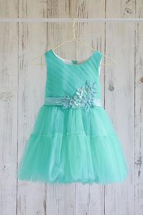 ドレス エメラルドグリーン 100cm
