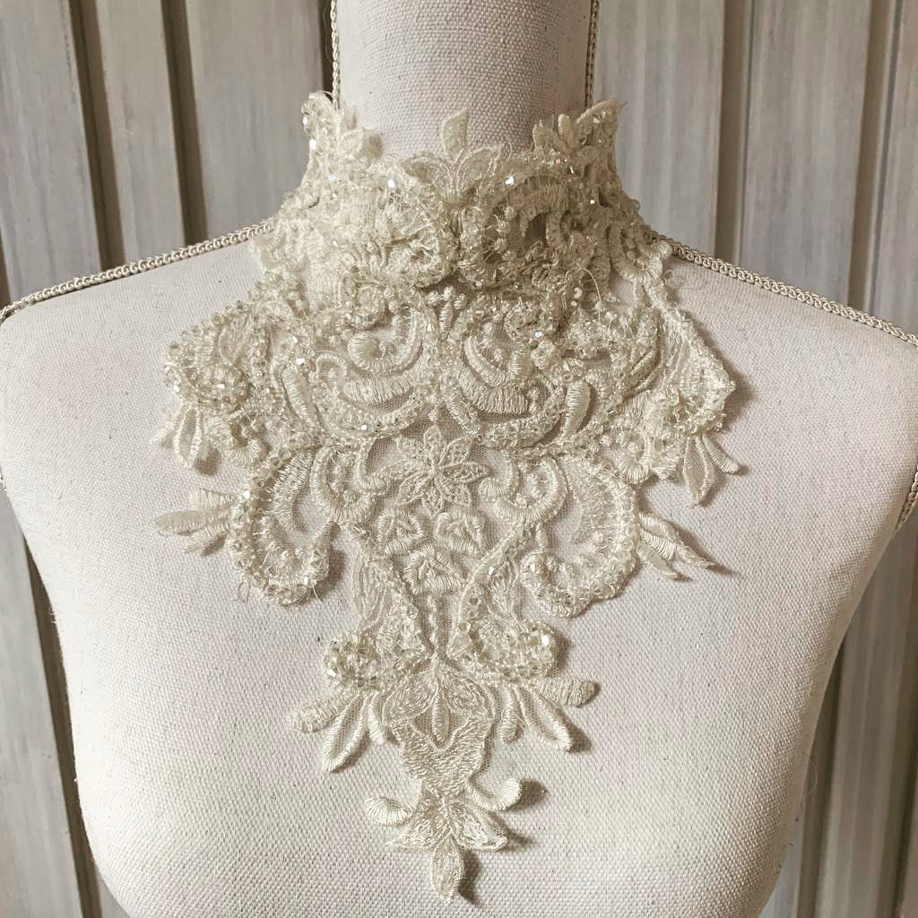 Luxe Couture Neck Piece For Wedding Dress