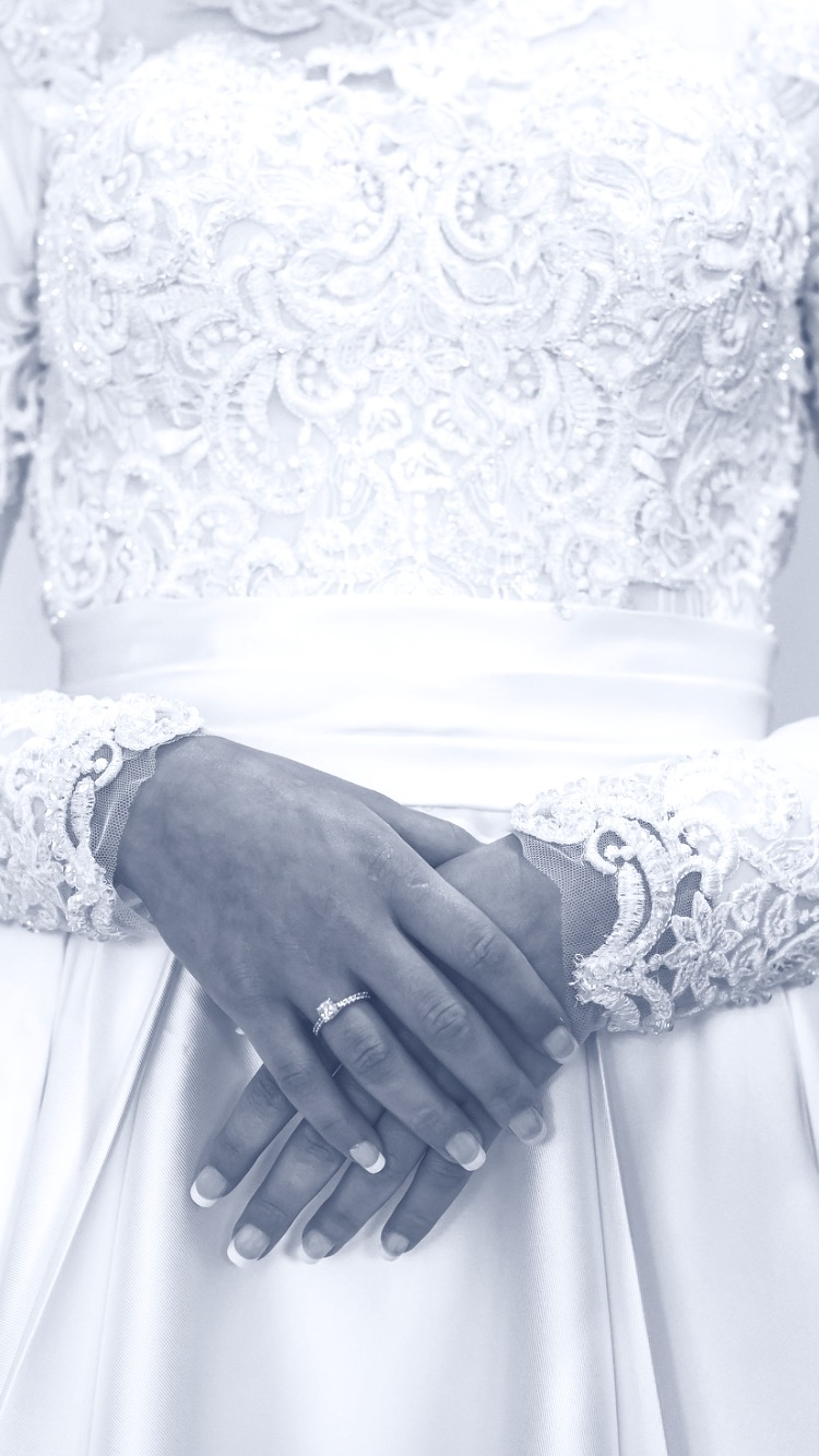 Luxe Couture Classic Customised White Wedding Dress