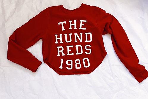 Hundreds cropped sweatshirt