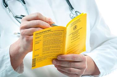 Reisemedizin Gelbfieber Impfung Tuttlingen Dr. Metzger Allgemeinmedizin