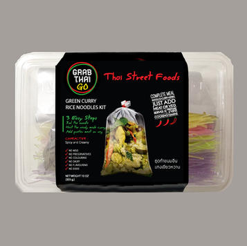 GREEN CURRY RICE NOODLES KIT ชุดทำขนมจีน แกงเขียวหวาน