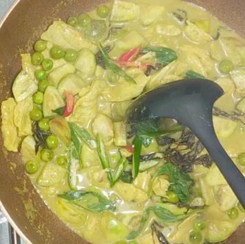 5. Add prefer vegetable.