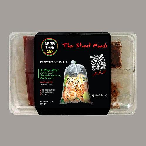 ชุดทำผัดไทยกุ้ง กึ่งสำเร็จรูป แพ็ค 3 กล่อง
