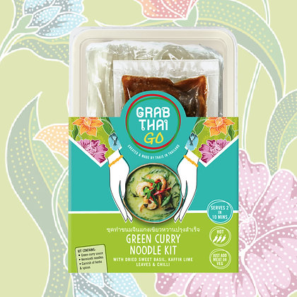 Aromatic Green Curry Noodle Kit - Case