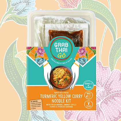 Turmeric Yellow Curry Noodle Kit - Case