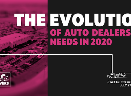 The Evolution of Auto Dealership Needs in 2020