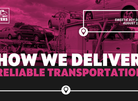 How We Deliver Reliable Transportation