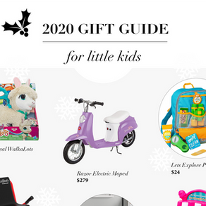 2020 Gift Guide: FOR LITTLE KIDS