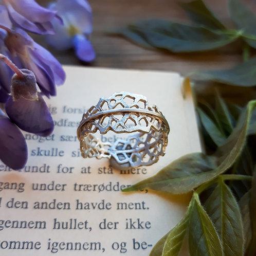 Ring - Papirklip - Sterling Silver
