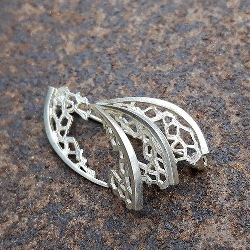 Brooche - Transform - sterling silver
