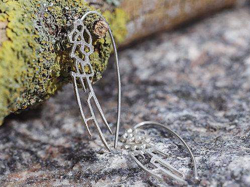 Øreringe - Wings - sterling sølv