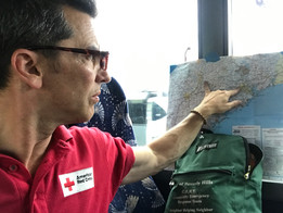Hurricane Harvey - Beverly Hills CERT meets Red Cross on the Journey from Austin to Houston (Texas)