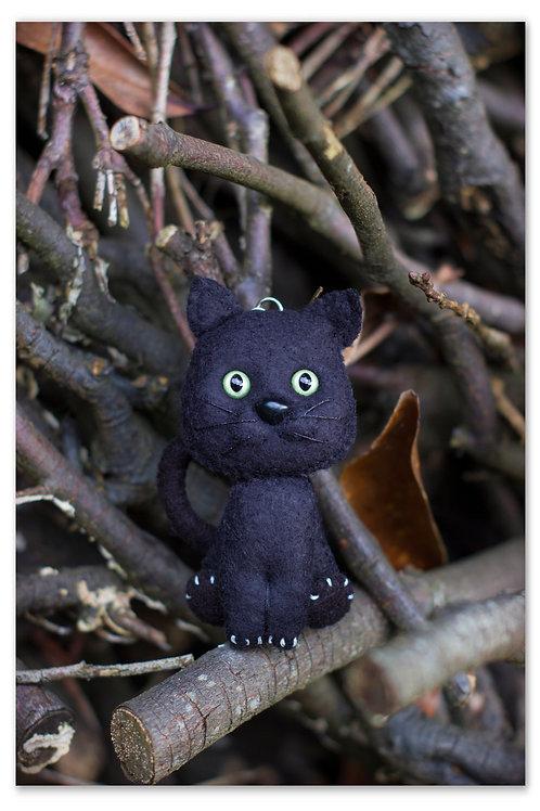 Le Chat noir Porte-Bonheur