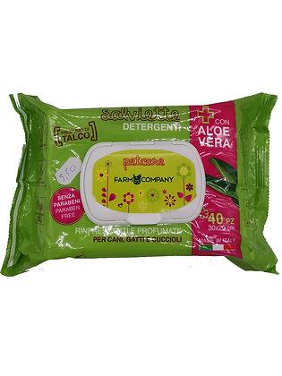 Lingettes nettoyante  a Aloe vera Farmcompag