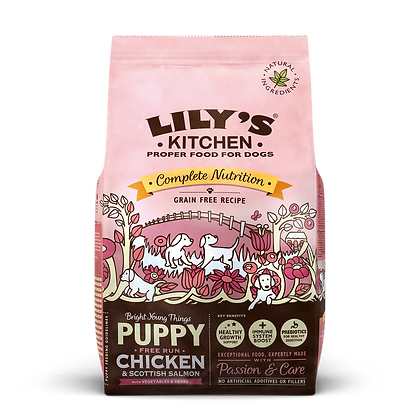 Lily's Kitchen Chiot Sans Céréales - Poulet et Saumon 2.5kg