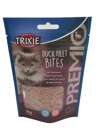 FRIANDISES CHAT FILET CANARD TRIXIE 50g