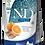 Thumbnail: CROQUETTE CHIEN HARENG & ORANGE ADULTE MINI SANS CEREALES N&D FARMINA 2.5 kg