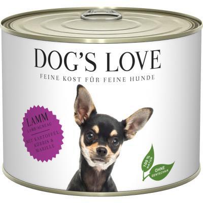 DOG'S LOVE PATEE POUR CHIEN   ADULTE AGNEAU 200g