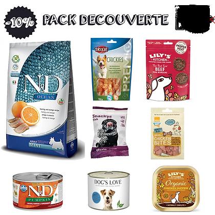 PACK DECOUVERTE DE NOUVELLES SAVEURS
