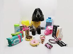 accessoires chien chat , laisse harnais , sac lingette shampoing