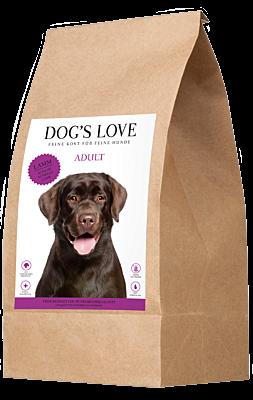 DOG'S LOVE CROQUETTES CHIEN   AGNEAU 2kg